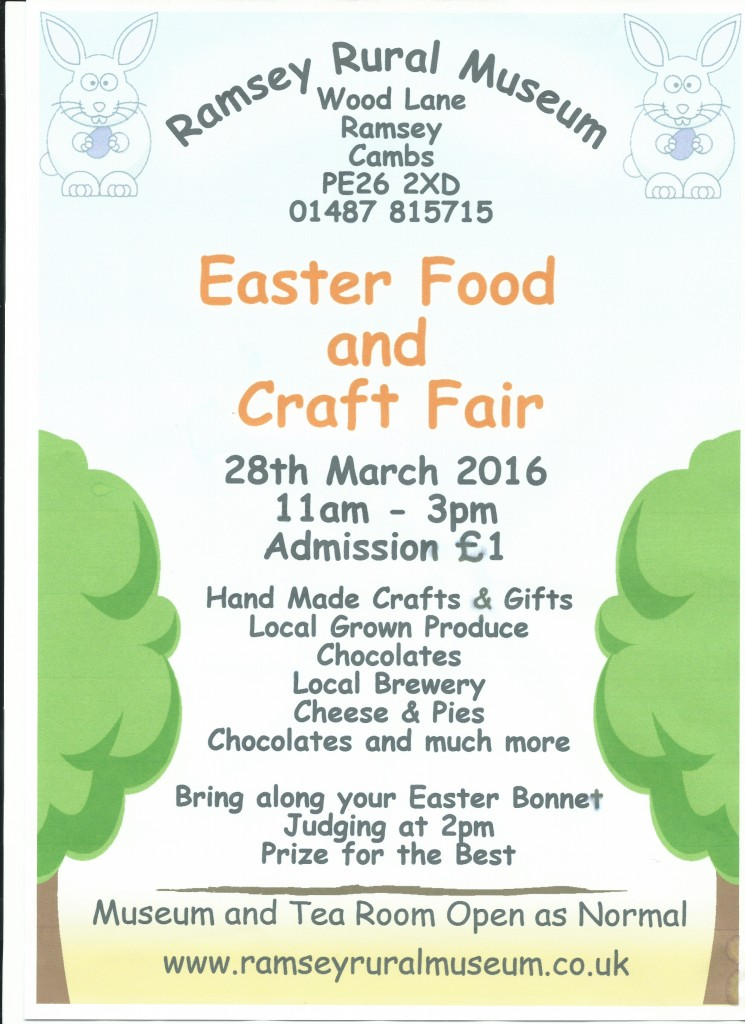 Easter Food Fair Poster 2016