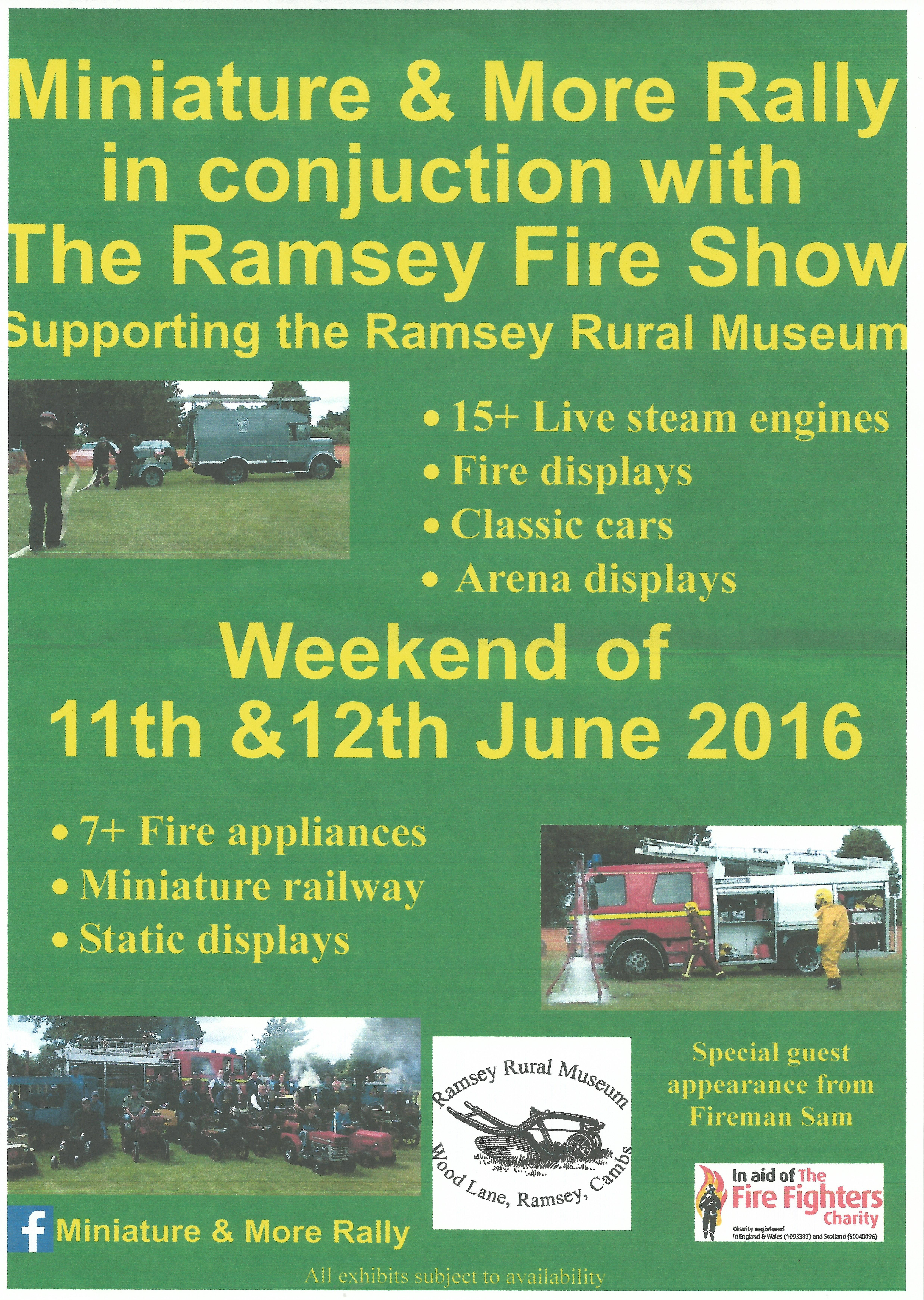 Miniature Steam And Fire Engine Rally Ramsey Rural Museum